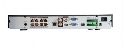 IP Видеорегистратор SNR-NVR-D800AD-PoE до 8 FullHD/25кс, 2HDD, 8 портов PoE 802.3af