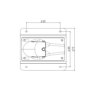 LTV-BMW-CM1-HV, кронштейн для крепления на угол