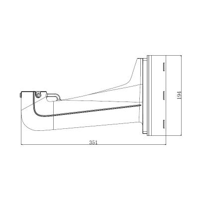 LTV-BMW-PM1-HV, кронштейн для крепления на столб