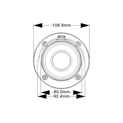 LTV-ICDM2-E6231L-F, уличная цилиндрическая IP-видеокамера с ИК-подсветкой
