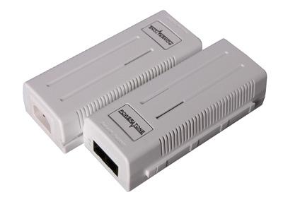 Инжектор PoE+ PI-300-1 1-портовый 802.3at 10/100/1000Mbps.
