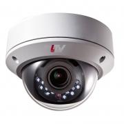 LTV-TCDM1-8210L-V, антивандальная уличная купольная «день/ночь» HD-TVI видеокамера с ИК-подсветкой