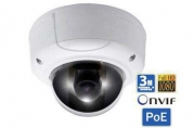 IP камера SNR-CI-DD3.0 купольная 3.0Мп, 3.3-12мм, PoE, вандалозащищенная
