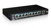 PoE коммутатор PUS-154-9 9-портовый неуправляемый 802.3af 10/100BASE-TX, 8 портов PoE