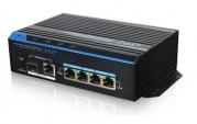 Уличный PoE коммутатор PUS-154-4-1i 4 10/100BASE-TX 802.3af&at+ 1 10/100BASE-TX+ 1 100BASE-X, расширенный диапазон температур