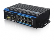 Уличный PoE коммутатор PUS-154-8-1i 8 10/100BASE-TX 802.3af&at+ 1 10/100/1000BASE-TX+ 1 1000BASE-X, расширенный диапазон температур