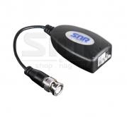 Приемопередатчик видеосигнала по витой паре пассивный 1-канальный SNR-B-P1VGL с защитой от